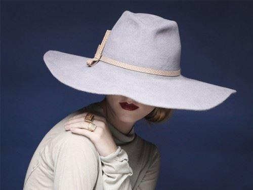 Fur felr fedora hat, womens hats