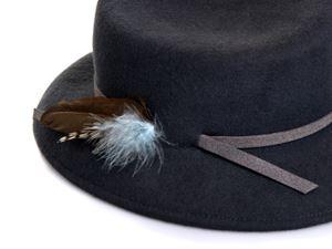 hat designer, justine hats , womens felt hat,