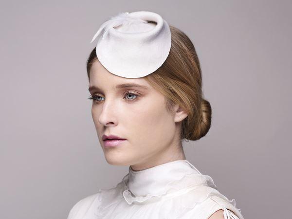 bridal head fascinator, bridal accessory