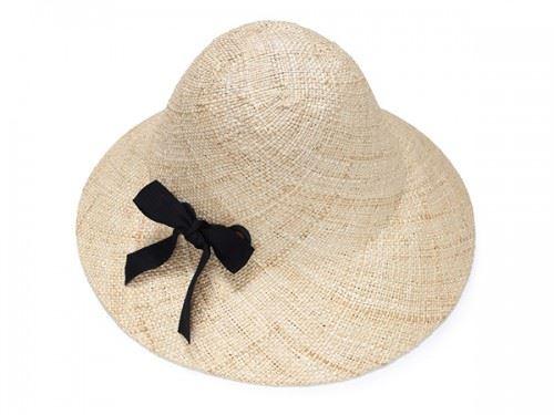 כובע קש מעוצב לנשים