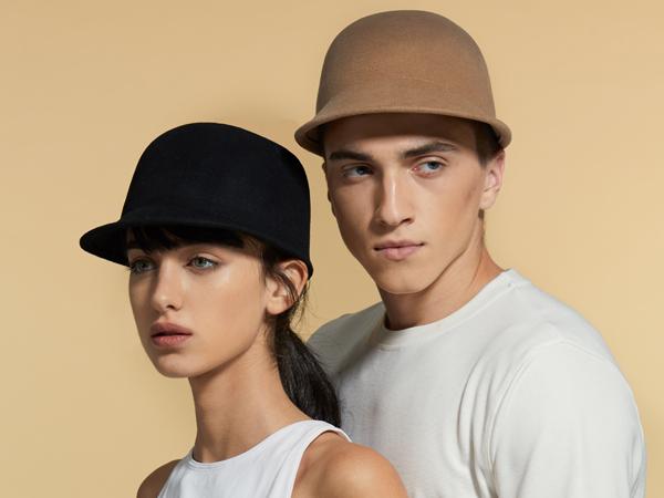 winter felt cap for women and men