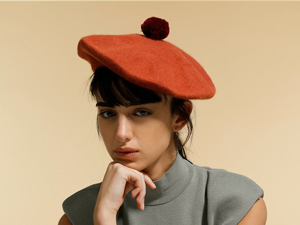 wool beret womens winter beret