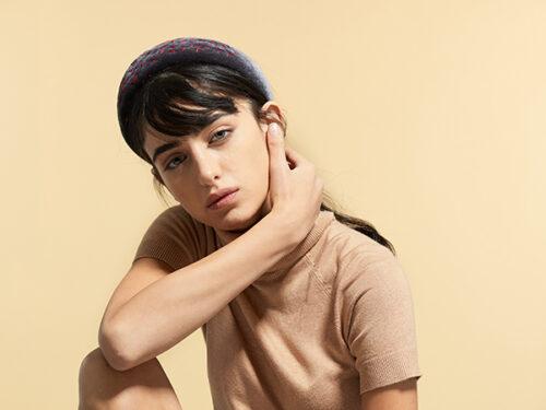 fashion wide velvet headband